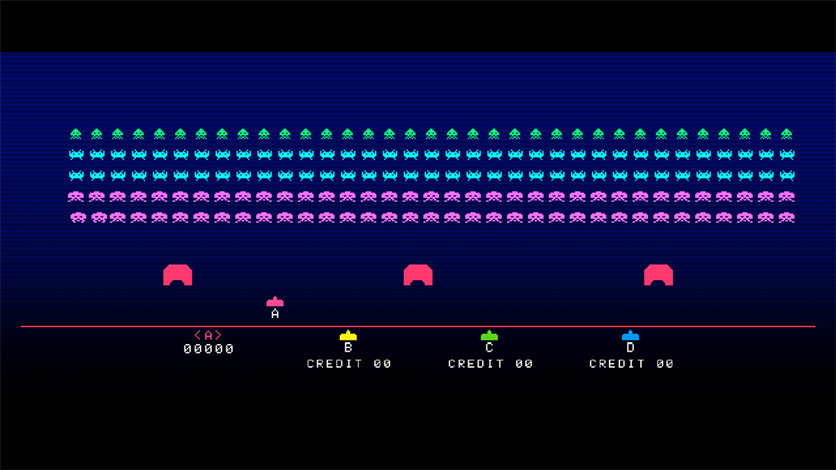 Space Invaders Gigamax 4 SE