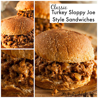 Classic Turkey Sloppy Joe Style Sandwiches