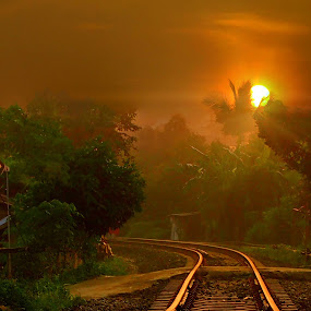 Genah Moyan by Dedi Sukardi - Landscapes Sunsets & Sunrises