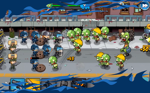 SWAT and Zombies - Defense & Battle 2.2.2 Screenshots 6