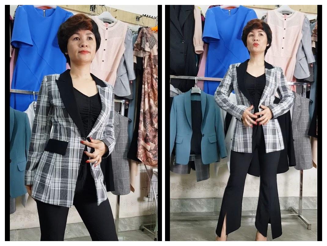 3 cách mix đồ Áo Vest Nữ với quần Ống Loe Phần 1 thời trang thuỷ hà nội