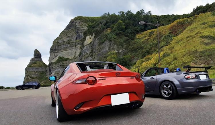 ロードスター ND型のオープンカーのある生活,クルマ好きと繋がりたい,秋の気配,トナラー,コラボに関するカスタム&メンテナンスの投稿画像1枚目