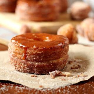 Pumpkin Spice Caramel Cronut.