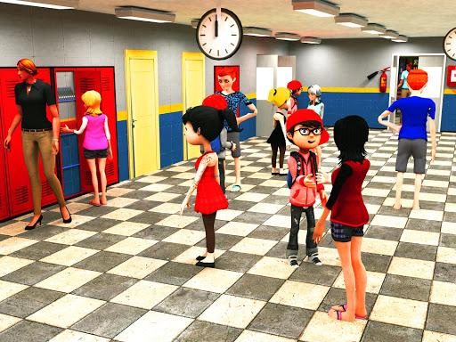 Virtual High School Simulator - School Games 3D apktram screenshots 5