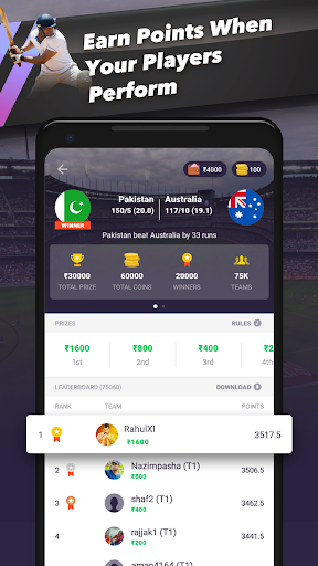 Download CricPlay - Free Fantasy Cricket  Win Paytm Cash  Apk Latest