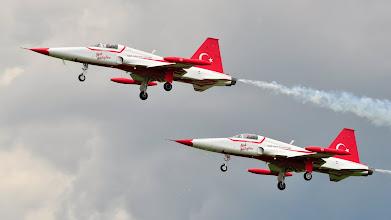 Photo: Turkish Stars na samolotach F-5