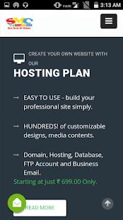 SMC Web Solution - náhled