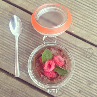 Raw Mint Chocolate Mousse
