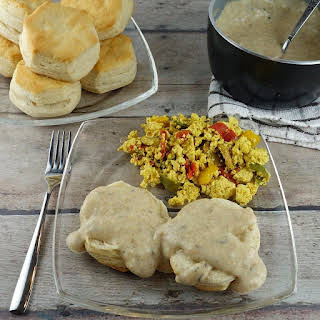 Plant-Based Biscuits and Gravy.