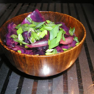 Stir-fry Red Cabbage