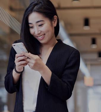 woman-looking-phone