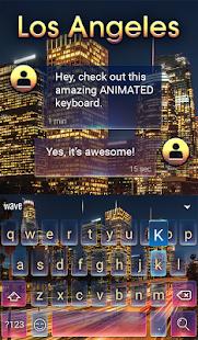 Los Angeles Animated Keyboard - náhled
