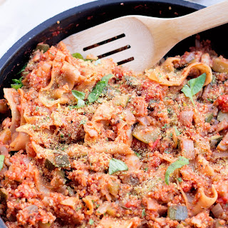 One Pot Quinoa Lasagna