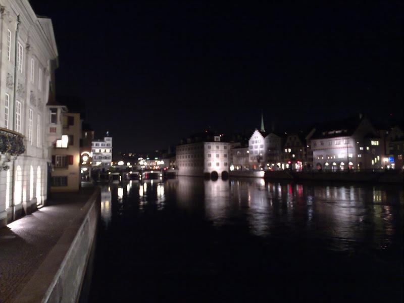 Photo: Nice architecture around all the waterways of Zürich.