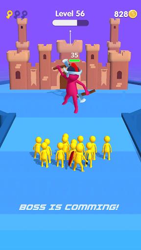 Stickman Fighting Run 3D: Epic battle  screenshots 4