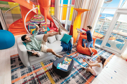 Frolic with the family in an Ultimate Family Suite on Royal Caribbean's Symphony of the Seas.