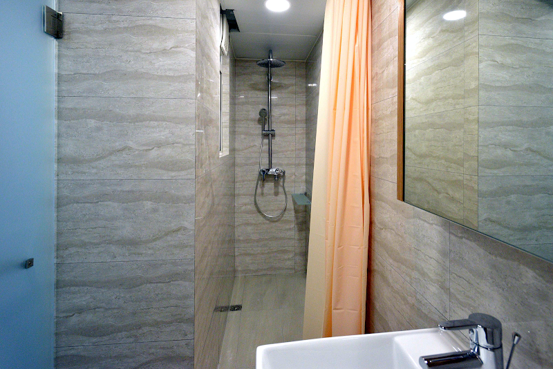 Bathroom at Tane Residence on Mercer Street, Hong Kong