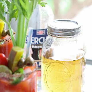 Homemade Pepper Jalapeno Liqueur.