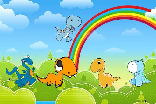 子供の恐竜ゲーム