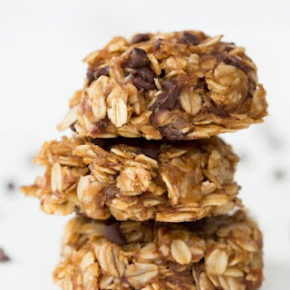 Healthy No Bake Chocolate Peanut Butter Oatmeal Cookies.