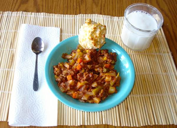 Stick To Your Ribs Hamburger Soup Recipe