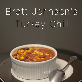 Brett Johnson's Turkey Chili