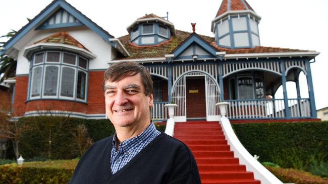 Don Taig is selling his house in Northcote. Picture: Josie Hayden