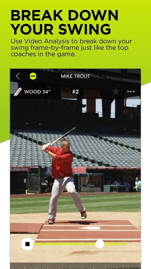 Zepp Baseball - Softball- screenshot
