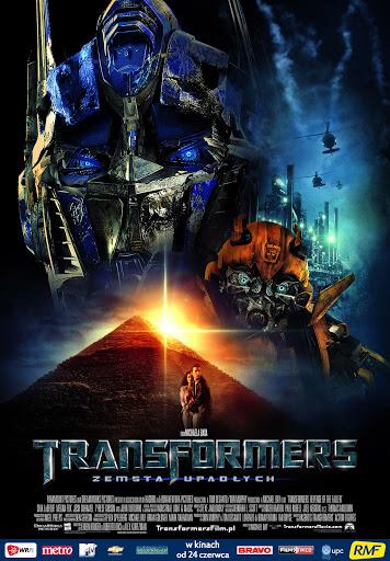 Polski plakat filmu 'Transformers: Zemsta Upadłych'