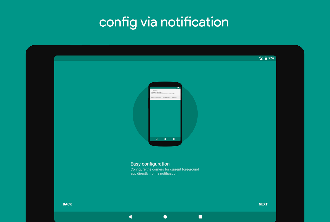 Cornerfly: captura de pantalla