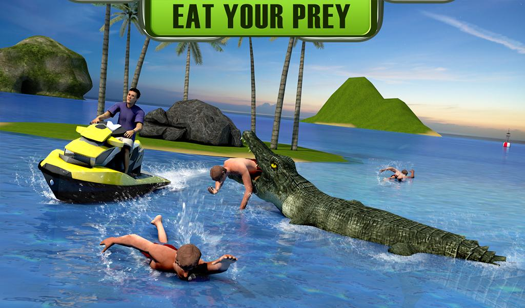 Crocodile Attack 2016- screenshot