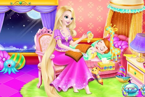 Newborn Bath - Princess Nurse- screenshot thumbnail