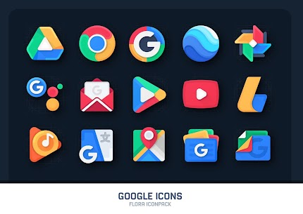 Flora : Material Icon Pack (MOD, Paid) v1.4 2
