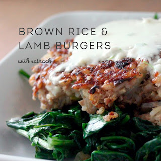 Brown Rice & Lamb Burgers