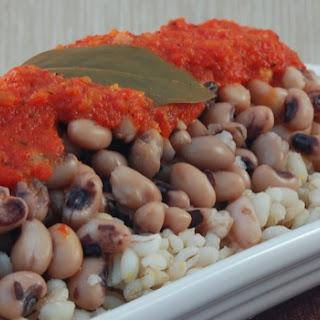 Creole Black Eyed Peas Recipe