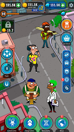 Cartoon Evolution : Merge Them All android2mod screenshots 7