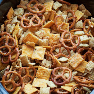 Slow Cooker Ranch Chex Mix