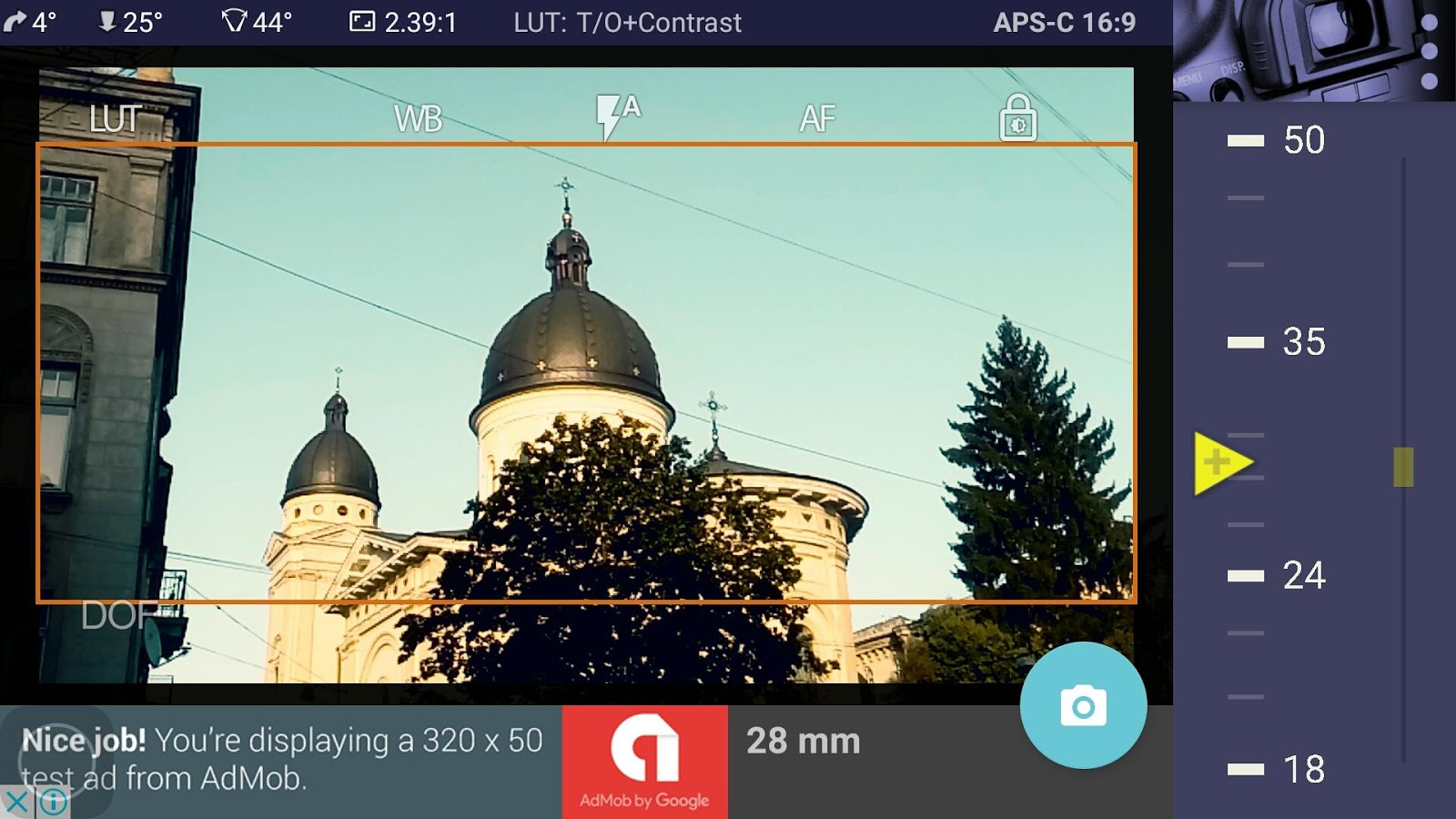 Magic Canon ViewFinder Free- screenshot
