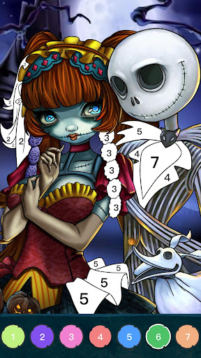 Zombie Coloring - Color by Numbers & Art Books screenshots apkshin 5