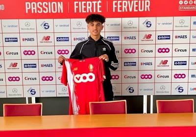 Le Standard de Liège offre son premier contrat professionnel à un jeune attaquant