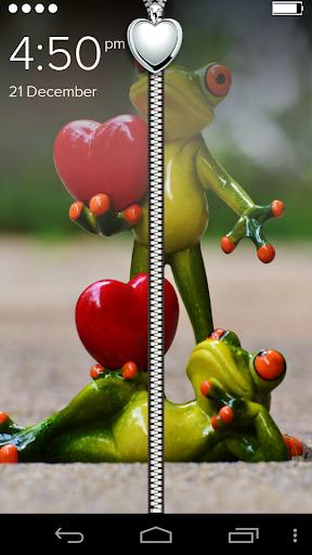 Cute Funny Love Hearts ZipLock