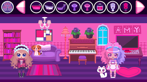 iDollhouse Game for Kids screenshot 1