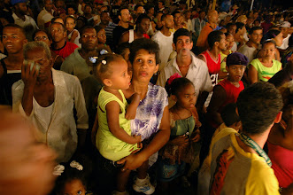 Photo: crowd watching carnival. Tracey Eaton photo