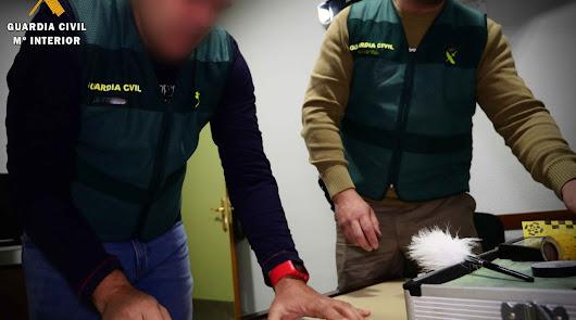 Cuatro detenidos en Roquetas de Mar tras robar en 25 viviendas