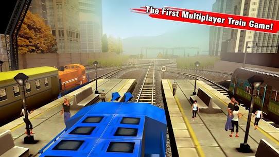Train Racing Games 3D 2 Player 9