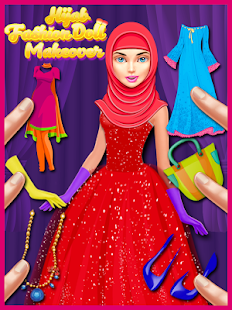 Game Indian Hijab Fashion Doll Makeover APK for Windows Phone