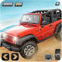 Desert Racing- Offroad Jeep Stunt Racer Simulator icon