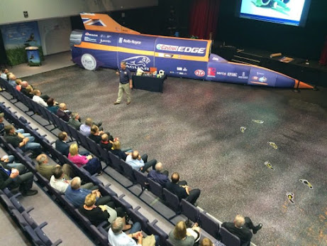 The Bloodhound hits town