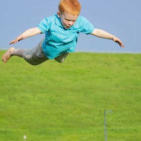 Flying High by Jason Roe - Babies & Children Children Candids ( flying, site & studio, family, children, fun )