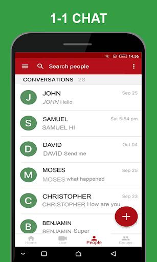 HowdyDo Messenger-Chat 1.2.0 screenshots 2